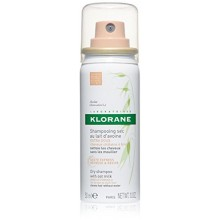 Klorane Dry Shampoo With Oat Milk - Natural Tint - Brunettes , 1 fl. oz.