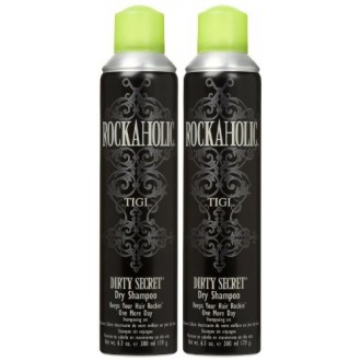 TIGI Rockaholic Dirty Secret Dry Shampoo, 6.3 oz, 2 pk