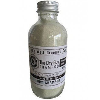 Dry Hair Shampoo For Men By The Well Groomed Guy - Premium Quality, Oil Removing Natural Formula - Eucalyptus Fresh Scent -