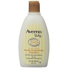 Aveeno Baby Shampoo Suave acondicionado, de 12 onzas (paquete de 2)