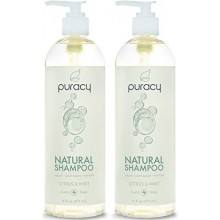Puracy Natural Shampoo - Sulfate-Free - THE BEST Daily Hair Cleanser - Clinically Superior Ingredients - Developed by