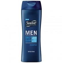 Suave Professionals Hombres champú, limpieza diaria de carga Océano 12,6 oz (paquete de 6)