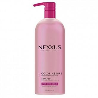 Nexxus couleur Assure Rééquilibrage Shampooing, avec pompe 33,8 oz