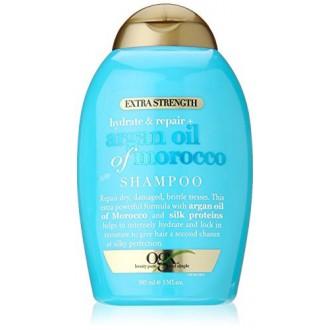 OGX Hidratación Plus Mantenimiento aceite de argán de Marruecos Champú Extra Strength, 13 onza