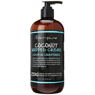 Renpure Coconut fouettées Creme Leave-In Conditioner, 16 Ounce