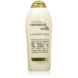 OGX Acondicionador Nutritivo, leche de coco, Tamaño Salón, 25.4 onza