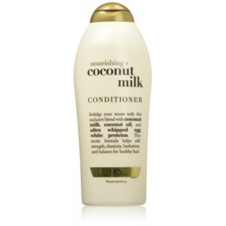 OGX Nourrissant Conditioner, lait de coco, Salon Taille, 25,4 Ounce