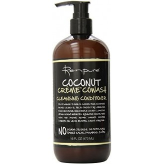Renpure Coconut Creme Cowash Cleansing Conditioner, 16 Ounce