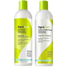 Devacurl No-poo Shampoo & Devacurl One Condition Duo - 12oz
