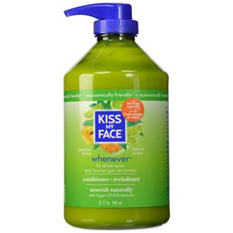 Kiss My Face Whenever Conditioner, Value Size, 32 Ounce