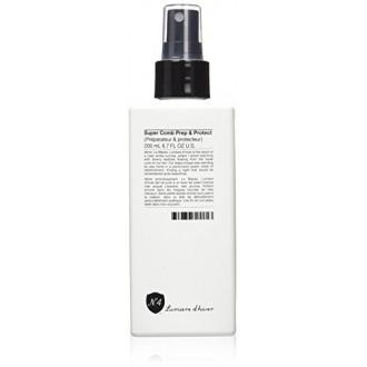 N.4 alto rendimiento cuidado del cabello - Lumière d'hiver Súper peine Prep and Protect - 6,7 oz