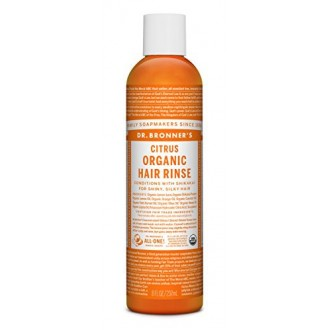 Dr. Bronner's Hair Conditioner Rinse - Citrus - 8 oz