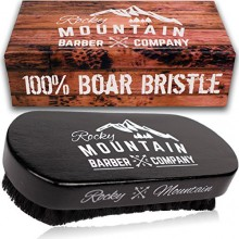 Rocky Mountain Barbero Compañía de jabalí Cepillo pelo de la barba para los hombres