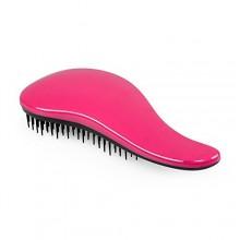 Elfina desenredar el cabello Cepillo desenredante peine del pelo --- color de rosa caliente
