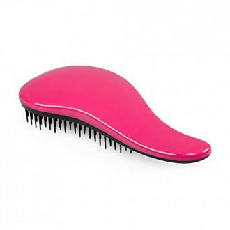 ELFINA Detangling Hair Brush Detangler Hair Comb---Hot Pink