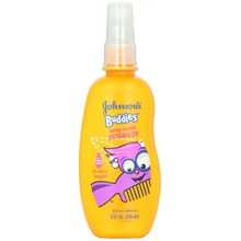 Johnson's Buddies, No More Tangles, Easy-comb Detangler, 8 fl oz