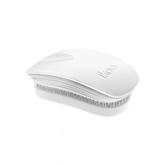 Ikoo Pocket Collection - White - Detangling Brush by ikoo